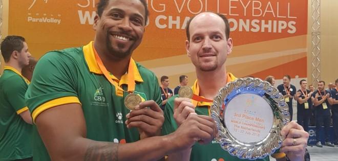 Atletas do IPP conquistam terceiro lugar no mundial de vôlei sentado
